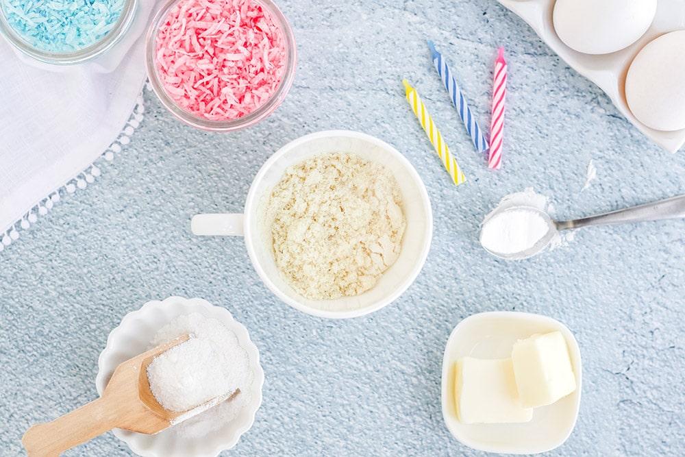 keto confetti cake ingredients